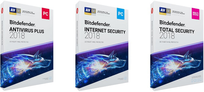 Bitdefender Internet Security 2017 | Bitdefender Total Security 2017 | Bitdefender AntiVirus Plus 2017