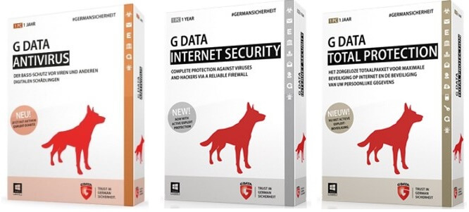 G Data Internet Security 2017 | G Data Total Security 2017 | G Data AntiVirus 2017