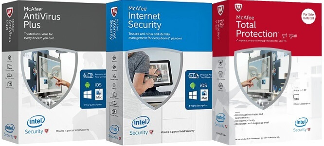 McAfee Internet Security | McAfee AntiVirus Plus | McAfee Total Protection